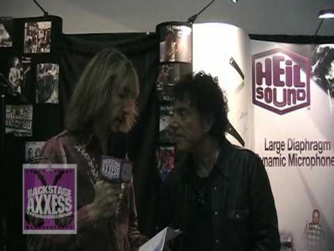 Neil Schon Interview with BackstageAxxess.com - NAMM 2010