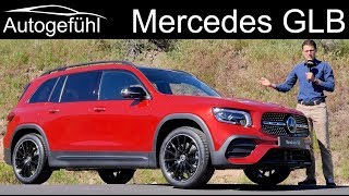 Mercedes GLB AMG-Line Premiere REVIEW Exterior Interior New SUV - Autogefühl