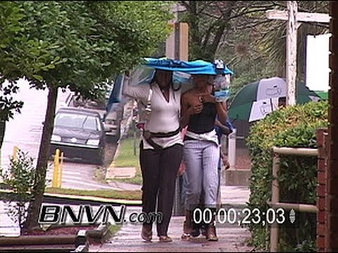 6/13/2006 Tropical Storm Alberto Video from Tallahassee Florida