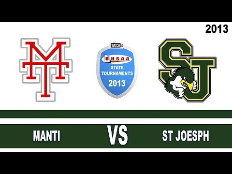 REPLAY: Manti vs St  Joseph Boys Soccer
