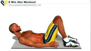 How to have six packs: 8 Min Abs Workout |HD|