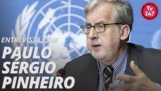 TV 247 entrevista Paulo Sérgio Pinheiro presidente da Comissão Arns pelos Direitos Humanos  (21.2.19