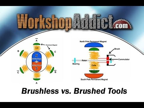 Brushless vs  Brushed Tools Overview
