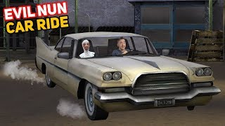 Driving In The Nun's EXPENSIVE CAR!!! | Evil Nun Mobile Horror Game (Mods)