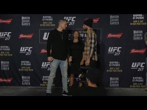 UFC 217: Media Day Faceoffs