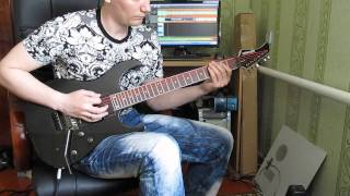 Rage - War of world (guitar cover)