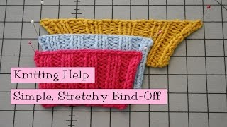 Simple Stretchy Bind Off