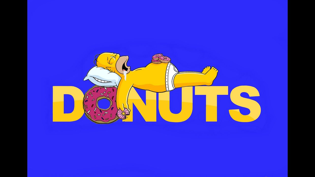 Donuts Homer Simpsons