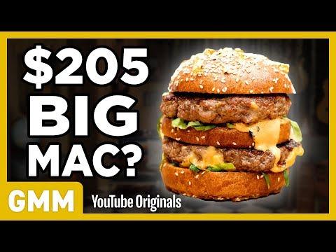 $205 Big Mac Taste Test | FANCY FAST FOOD