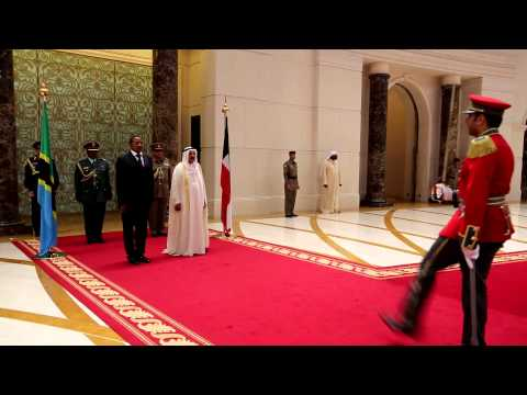 PRESIDENT KIKWETE IN TWO DAY STATE VISIT OF KUWAIT MAY 5,2013