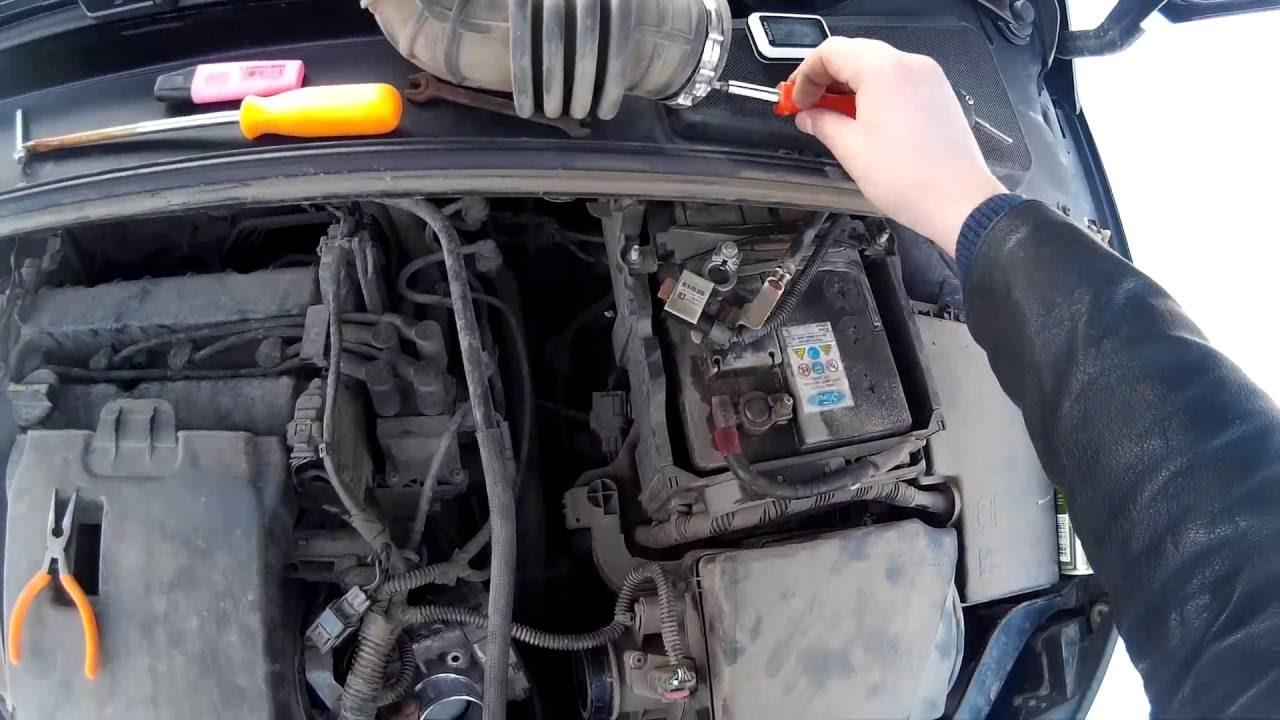 Чистка дроссельной заслонки форд фокус 3 своими руками