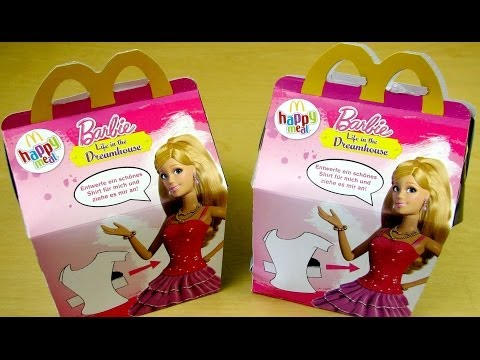 Barbie Happy Meal 2014