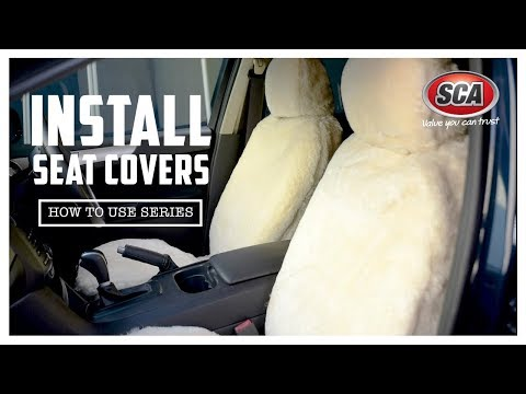 How to install seat covers
