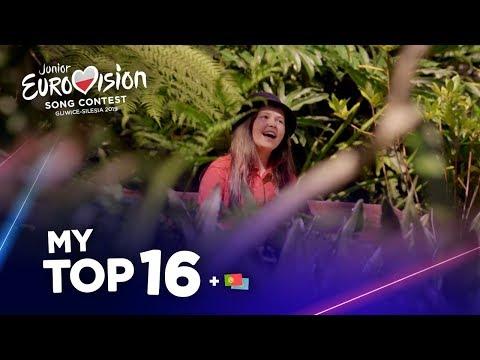 Junior Eurovision 2019 - Top 16 (So far)