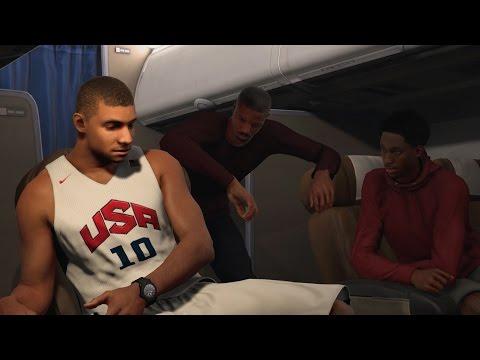 NBA 2K17 PS4 My Career - Atlanta Flu Game!