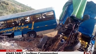 Six feared dead in accident on Techiman Kintampo Road - The Pulse on Joy News (3-2-17)