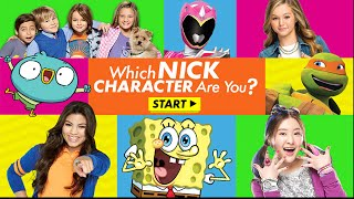 Nick Games | Nickelodeon | Which Nick Character Are You?