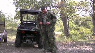GHILLIE SUIT red rock outdoors/ 3d system (lil look)