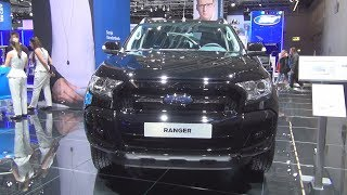 Ford Ranger Black Edition Limited 3.2 TDCI (2018) Exterior and Interior