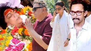 Full Video: Bollywood Celebs Attend Reema Lagoo's Funeral