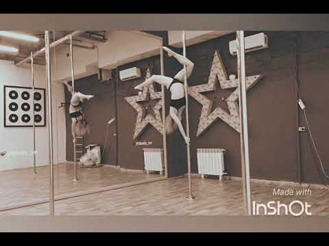 Pole dance (пилон) в школе танцев Study-On, Челябинск, 2017