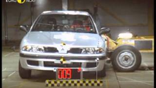 Euro NCAP | Mitsubishi Carisma | 2001 | Crash test