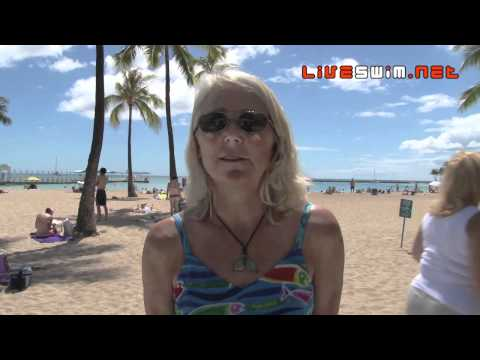 Kaia Hedlund - 2010 Waikiki Rough Water Swim