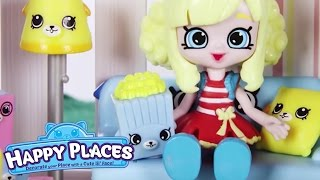 Shopkins | Happy Places - The Lil' Shoppies of Happyville - MOVIE NIGHT- Cartoons for Children
