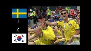 SWEDIA VS KOREA(1-0) 18/6/2018 HIGHLIGHTS WORLD CUP 2018 RUSSIA