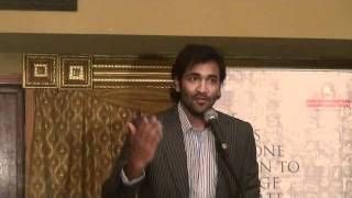 Part 2 : Vishnu Manchu Speech @ Fund Raising for Vidya Niketan in Dallas, Texas