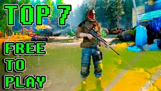 Top 7 Mejores Free to play  STEAM del 2017