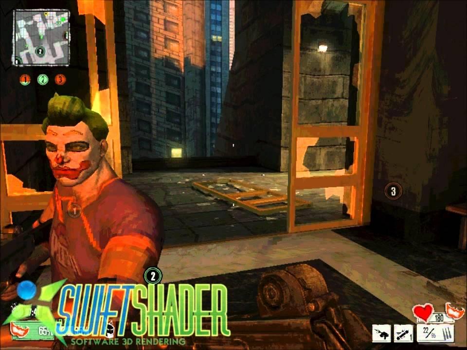 Gotham City Impostors Intel GMA 3100 Swiftshader 3.0 - YouTube