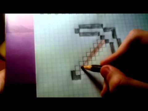 Как рисовать на бумаги в майнкрафте