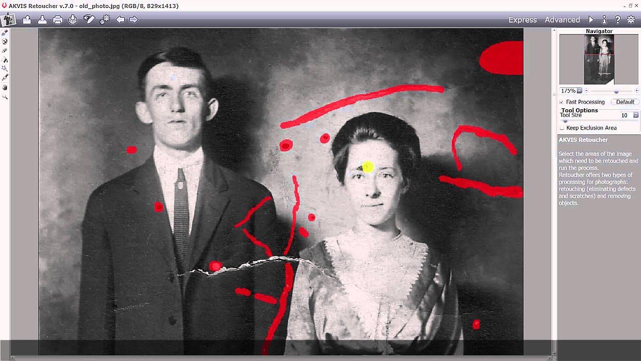 Как сделать цветную фотографию из черно белой