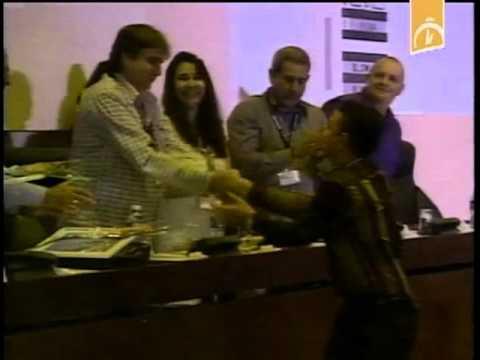 Entrega de Premio del concurso nacional de la Convención Cuba 2015