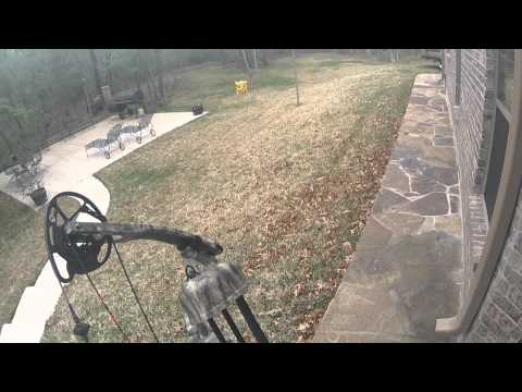 GOPRO Hero2 Test Vid with Bowtech Assassin