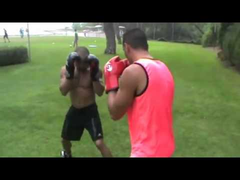 Hatem Ben Arfa Boxing!!!