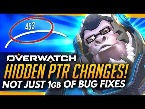 Overwatch | HIDDEN PTR CHANGES - Spectator and Hero UI Improvements