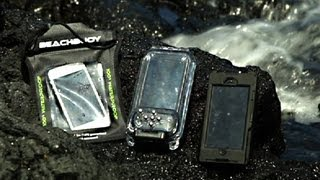 Underwater iPhone case shootout