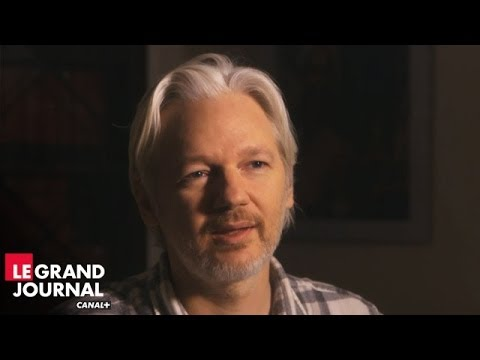 Julian Assange (WikiLeaks) l'entretien exclusif - Le Grand Journal