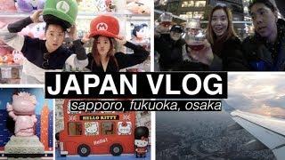 Three Cities in 3 Days: Sapporo, Fukuoka, & Osaka 🇯🇵