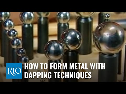 How To Form Metal With Dapping Techniques