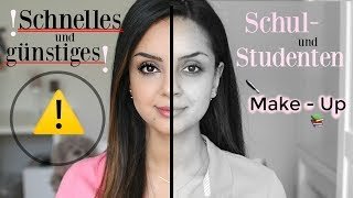 Schnelles und günstiges Schul-Studenten Make Up I Drogerie Paletten, Foundation,...I Tamtam Beauty