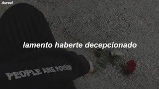 Nf Let You Down Traducida Al Español