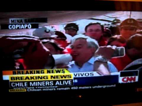 CNN: Chile Miners Alive!!!!