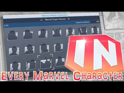 All 21 Disney Infinity 2.0 Marvel Characters - Expert Comic Analysis