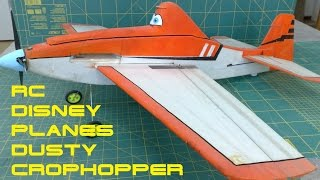 RC Disney Planes Dusty Crophopper (Cessna 188)