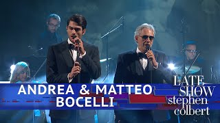Andrea Matteo Bocelli Perform 39 Fall On Me 39