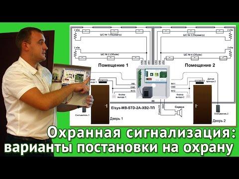 Охранная сигнализация; о вариантах постановки на охрану рассказывает Сергей Романенков, ЛУИС+