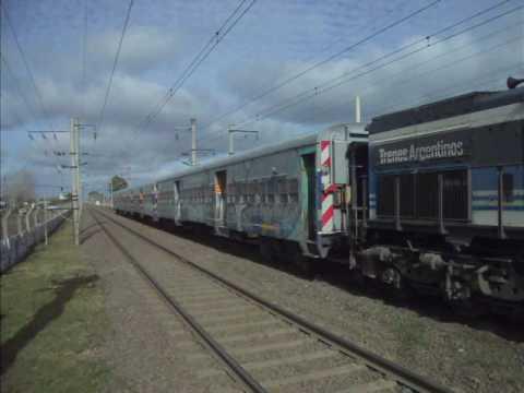 Locomotoras General Motors GT-22 en Presidente Perón (1)